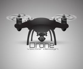 Drone poster design vectors 10