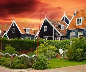 Dusk Sunset Villas HD picture
