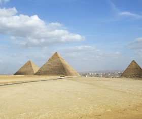 Egypt travel, pyramid Stock Photo 02