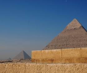 Egypt travel, pyramid Stock Photo 05