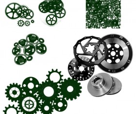 Engineering Gearwheel Photoshop Brushes
