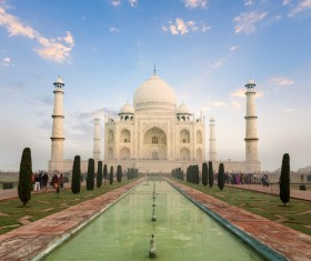 Famous buildings and tourist attractions in India Stock Photo 01