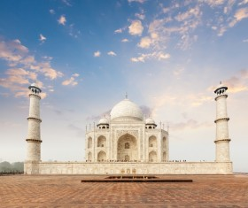 Famous buildings and tourist attractions in India Stock Photo 05