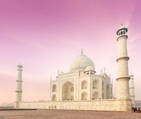 Famous buildings and tourist attractions in India Stock Photo 06