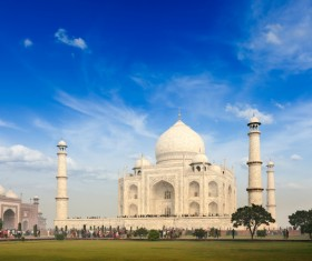 Famous buildings and tourist attractions in India Stock Photo 07