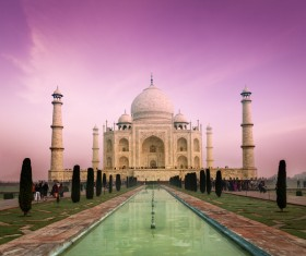 Famous buildings and tourist attractions in India Stock Photo 08