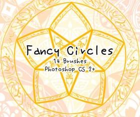 Fancy Circles photoshop brushes