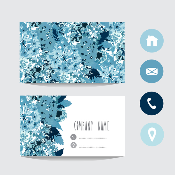 Flower business card template with society icons vector 01 free download flower business card template with society icons vector 01 colourmoves