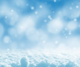 Flying snowflakes Stock Photo 01