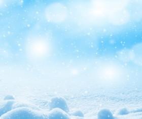 Flying snowflakes Stock Photo 02