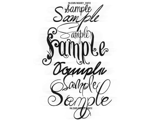 Free sample font