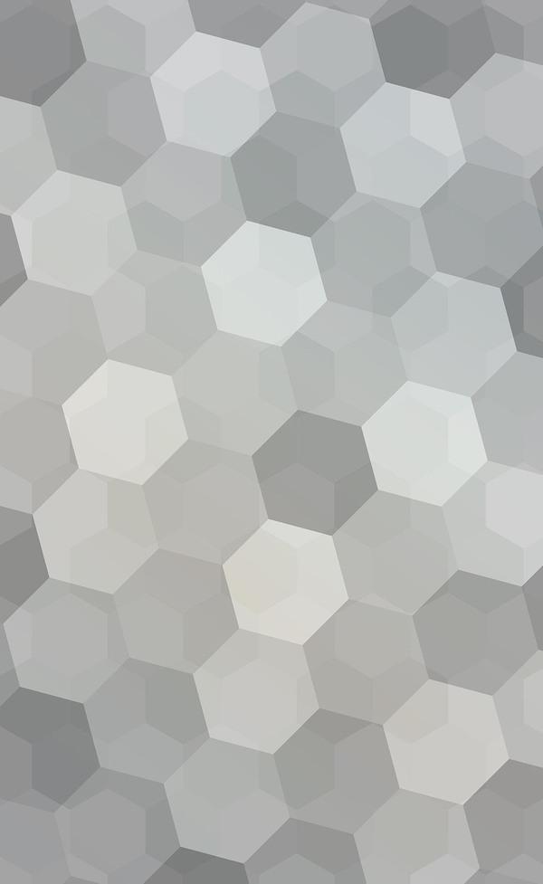 gray hexagon backgrounds vector free download