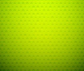 Green ronund dot background vector