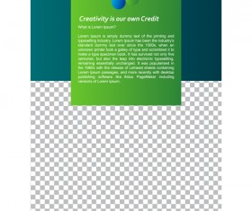 Green styles cover brochure template vectors set 01