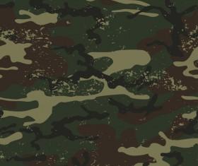Grunge camouflage pattern seamless vector