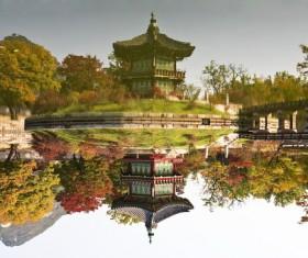 Gyeongbok Palace, Seoul Stock Photo