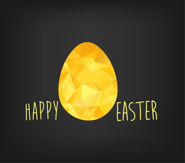 Happy easter greeting card with egg vector free download happy easter greeting card with egg vector m4hsunfo