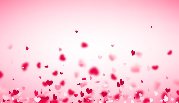 Schön Hearts Fly Valentine Backgrounds Vectors Material 06