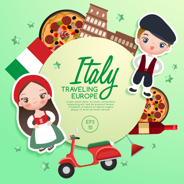 Image result for italy cartoon