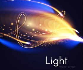 Light effect abstract vector background 03