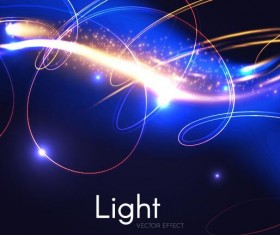 Light effect abstract vector background 04