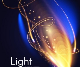 Light effect abstract vector background 05
