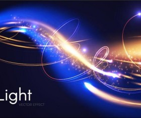 Light effect abstract vector background 07