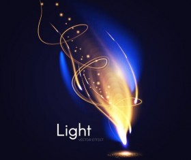Light effect abstract vector background 10