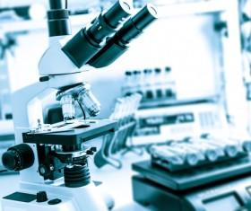 Medical Microscope Medical Equipment Stock Photo