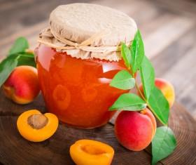 Mix the fruit jam Stock Photo