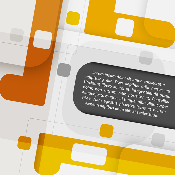 Modern background with business template vector 02