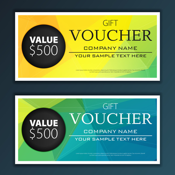 Modern gift voucher template vector 04 vector banner free download modern gift voucher template vector 04 yelopaper Image collections
