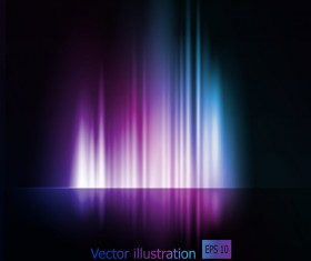 Northern light vector abstract backdrop vector 03