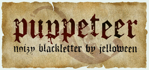 PUPPETEER font