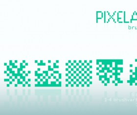 Pixelate photoshop brushes