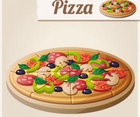 Pizza vector design