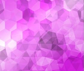 Purple gradient background with hexagon vector 01