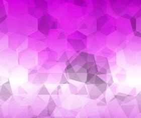 Purple gradient background with hexagon vector 02