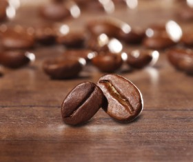 Roasted coffee beans Stock Photo 08