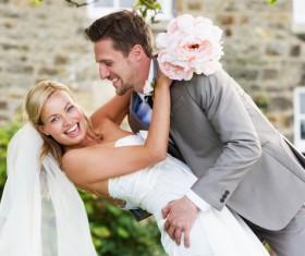 Romantic wedding Stock Photo