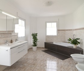 Small size bathroom decoration effect HD picture 02