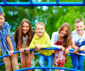 Smiling children HD picture 01