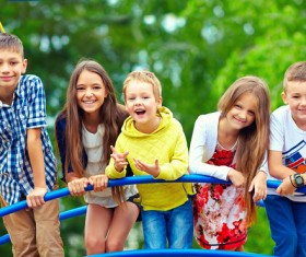 Smiling children HD picture 02