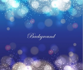 Sparkling bokeh and grunge background vector