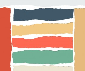 Torn paper background vector material 01