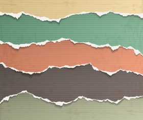 Torn paper background vector material 03