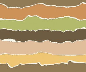Torn paper background vector material 05