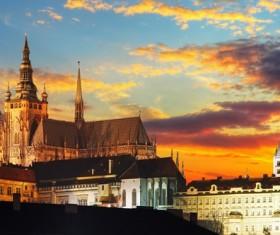 Tourist attraction in Prague Stock Photo 01