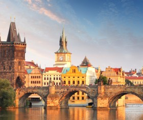 Tourist attraction in Prague Stock Photo 03