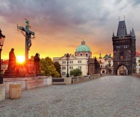 Tourist attraction in Prague Stock Photo 06